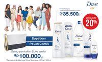 Beli Shampoo Dove Bisa Menang Macbook Sampai iPhone X!