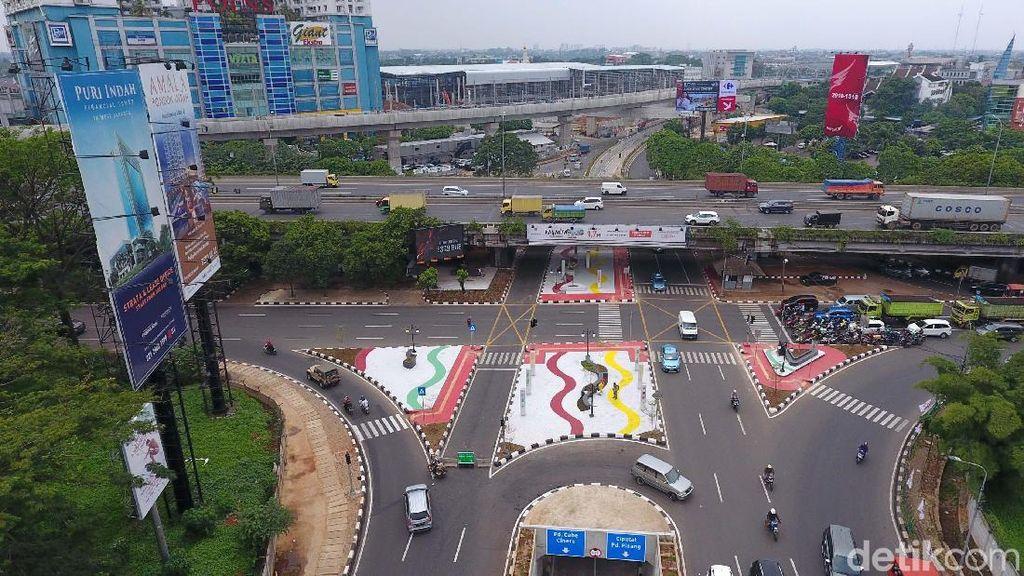 Memantau Underpass Kartini dari Lensa Drone