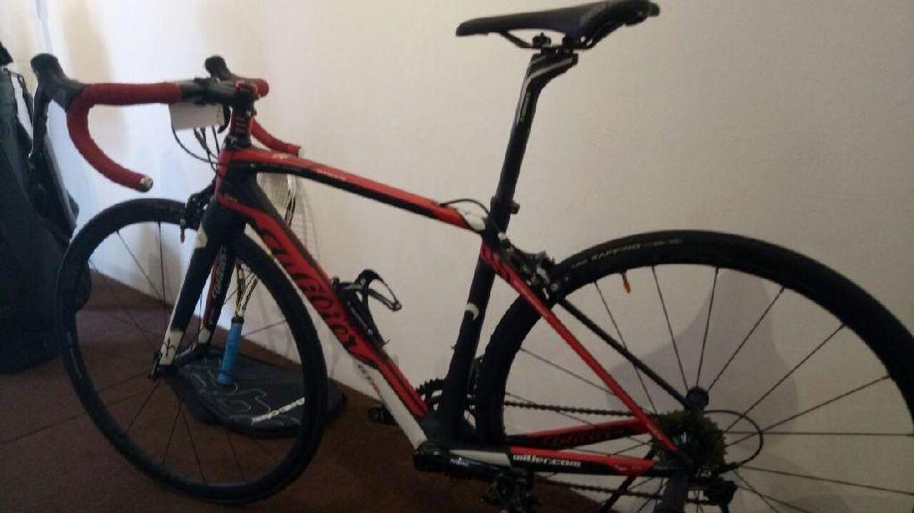 Sepeda Balap Kepala BIN Tak Laku Dilelang