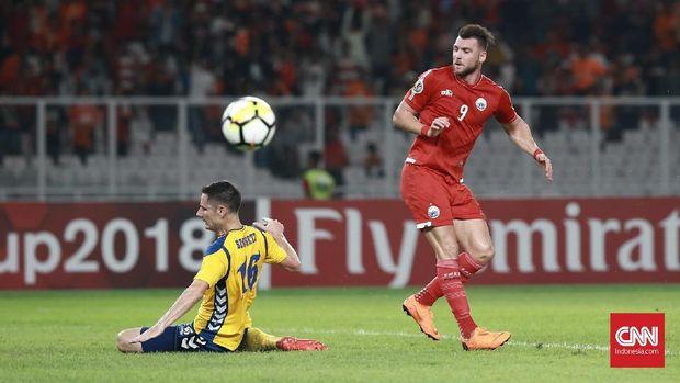 Marko Simic akan kembali menjadi andalan Persija untuk membobol gawang Song Lam Nghe An. (