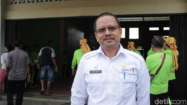 Sekdis Disparpora Singkawang, Suryanto (Randy/detikTravel)