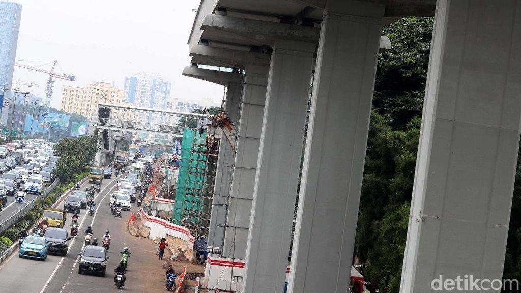 38 Proyek Layang Ini Dilanjutkan, Termasuk Becakayu dan LRT