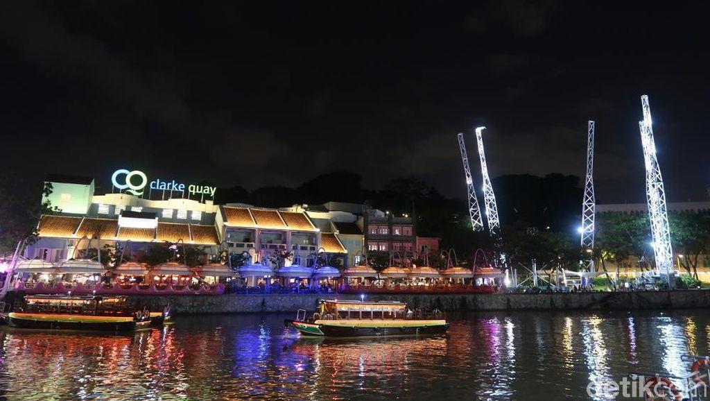 Wisata Malam Hits di Singapura: Clarke Quay