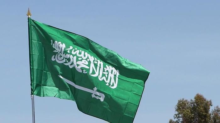 Ilustrasi bendera Arab Saudi