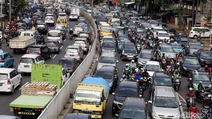 Kemacetan Jakarta berpotensi mengganggu jalannya Asian Games 2018 (dok detikcom)