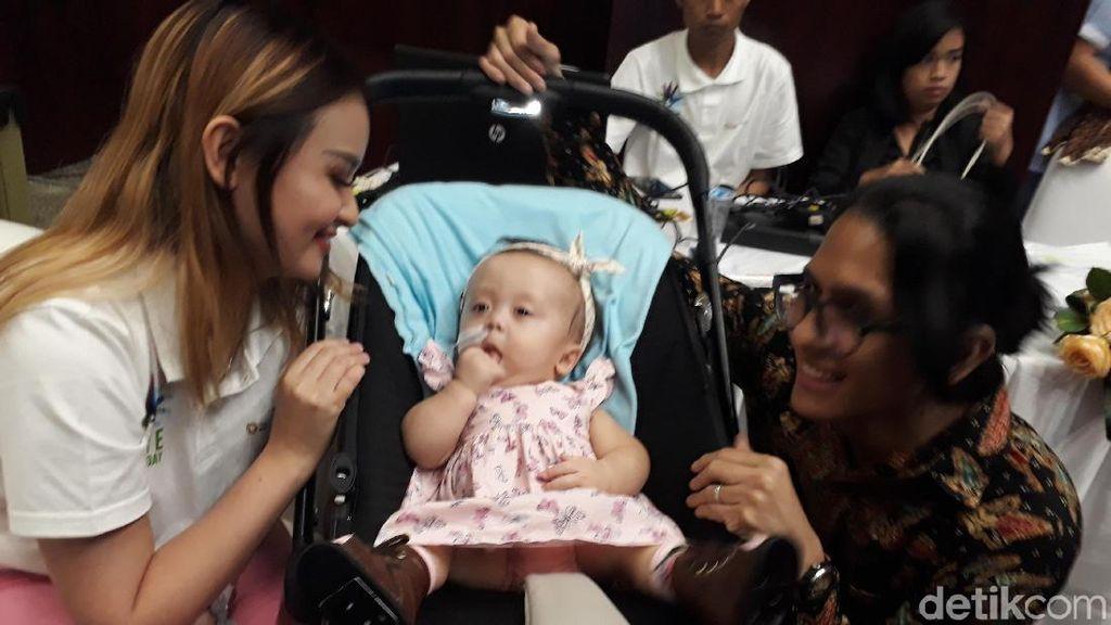 CMD, Kondisi Langka yang Dialami Anak Bungsu Joanna Alexandra