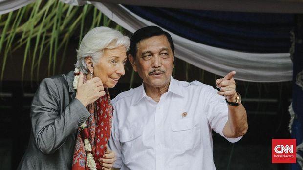 PDIP Sebut Pose Satu Jari Bos IMF Bukan Kampanye Terselubung