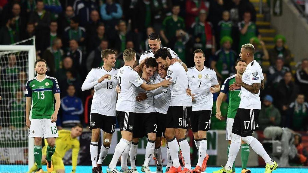 Jerman Umumkan Skuat Piala Dunia 2018, Leroy Sane Dicoret
