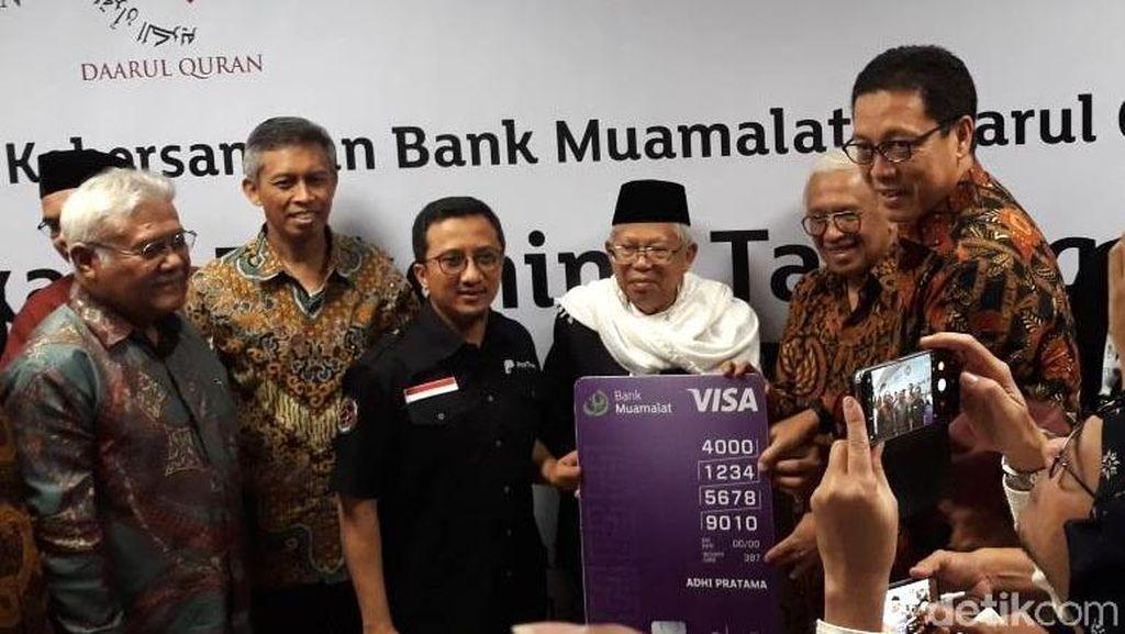 Maruf Amin: Bank Muamalat Boleh Sakit Tapi Tidak Boleh Mati