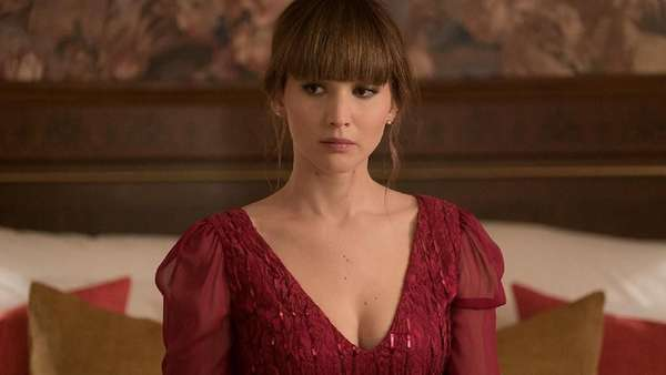Aksi Menggoda Jennifer Lawrence di Red Sparrow