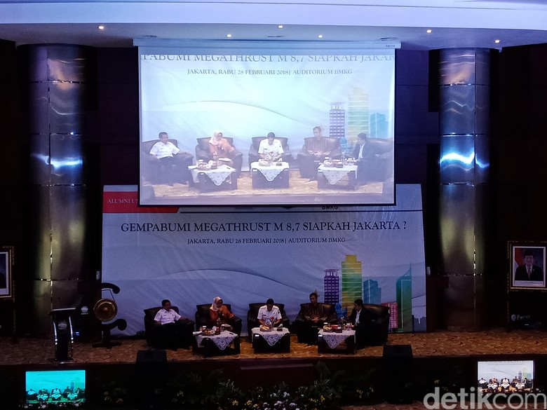 BMKG Minta Pemprov DKI Siapkan Mitigasi Bencana Hadapi Gempa Besar