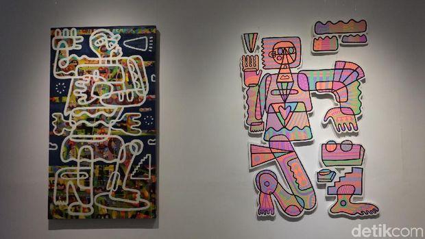 Martell Gelar Pameran 14 Seniman Muda Indonesia di Edwin's Gallery