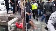 Seorang Pria Diduga Suporter Terluka Dikeroyok Oknum Pesilat
