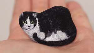 Cute! Hewan-hewan Kecil Ini Terbuat dari Batu