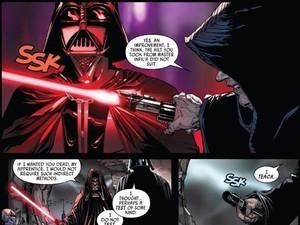 Asal Muasal <i>Lightsaber</i> Terakhir Darth Vader Terungkap di Komik Terbaru