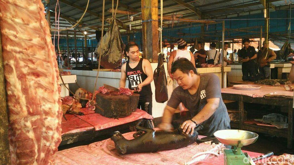 5 Daging Hewan di Pasar Tomohon, Pasar Daging Paling Ekstrem di Dunia