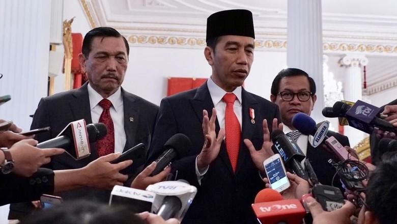 Wiranto Imbau Kasus Calon di Pilkada Ditunda, Jokowi: KPK Independen