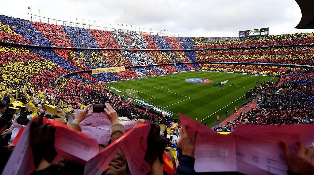 Wajah Baru Markas Barcelona, Camp Nou