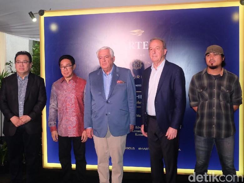 Martell Gelar Pameran 14 Seniman Muda Indonesia di Edwins Gallery