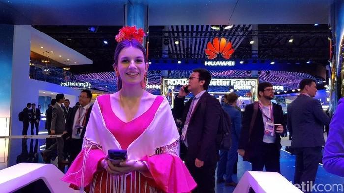 Huawei Pamer 5G Hingga Drone Raksasa di MWC 2018