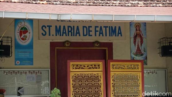 Dulunya, gereja ini merupakan milik saudagar Tionghoa yang kemudian berpindah keyakinan menjadi Katolik (Shinta/detikTravel)