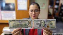 Dolar AS Makin Jinak, Pagi Ini di Rp 14.845