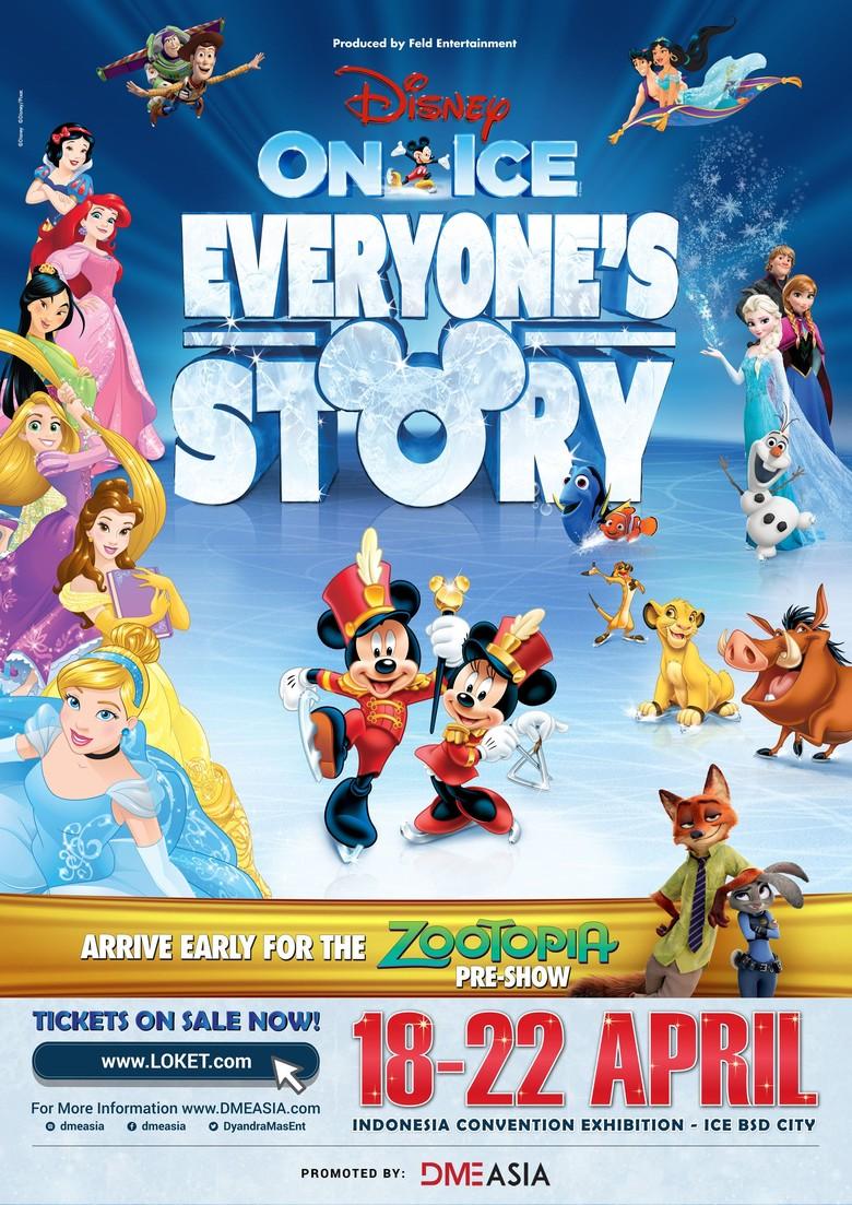 Selamat! Ini 5 Pemenang Tiket Nonton Disney on Ice dari detikHOT
