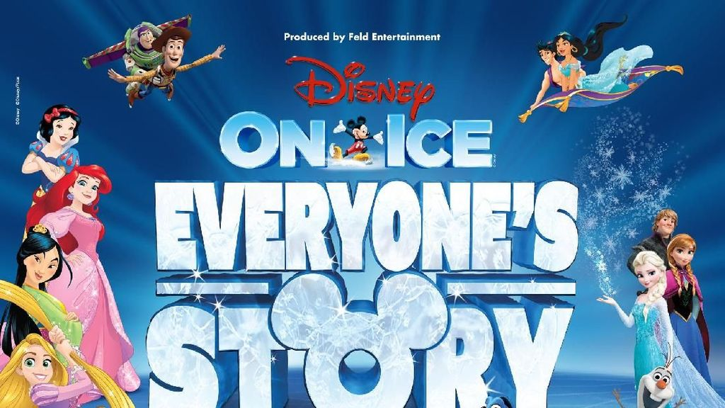 Ada Tiket Gratis Disney on Ice Nih, Bun