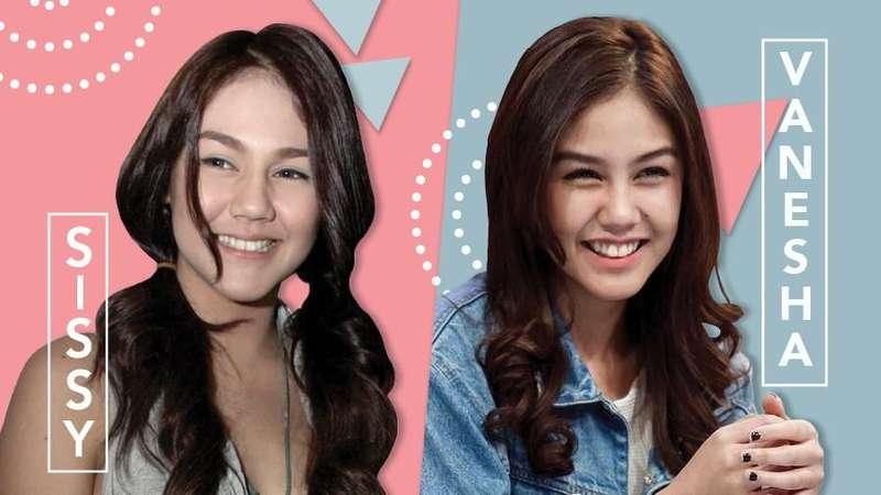 Sissy dan Vanesha Prescilla: Kembar Tapi Tak Sama