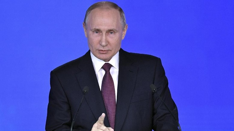 Putin yang Setujui Perintah Tembak Pesawat Komersil karena Isu Bom