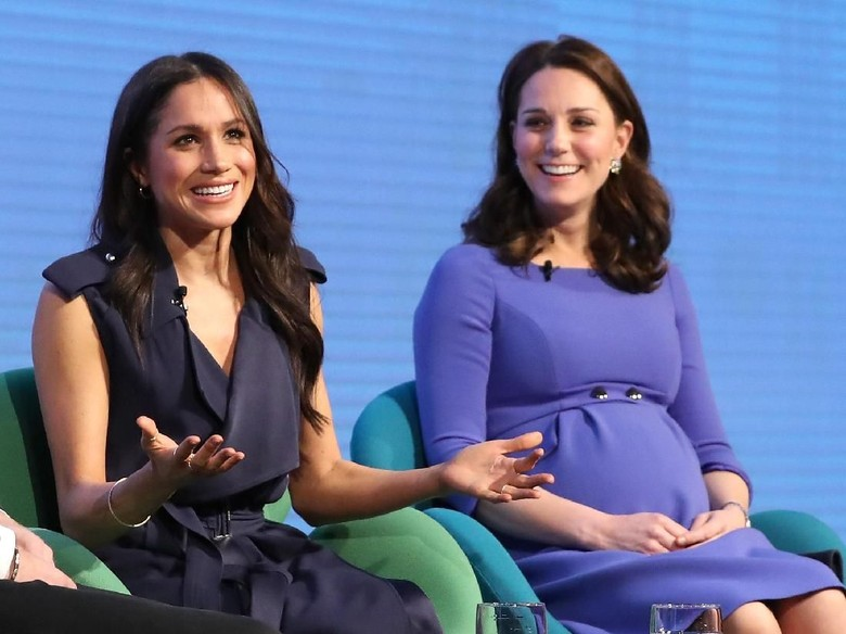 Foto: Kate Middleton dan Meghan Markle (Chris Jackson - WPA Pool/Getty Images)