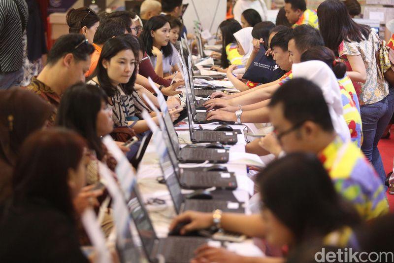 Astindo Travel Fair 2018 digelar di JCC Assembly Hall, Jakarta Pusat (Grandy/detikTravel)