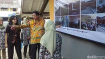 Bank Mega Tinjau Perbaikan Bangunan SMK PGRI Lembang