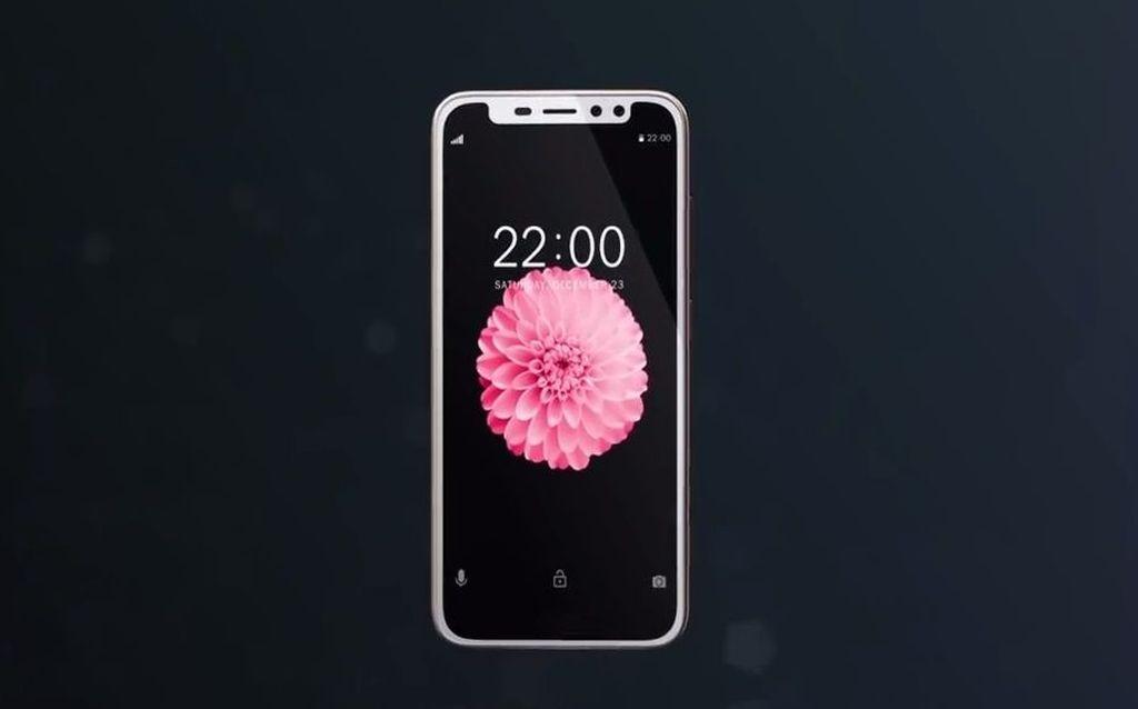 Ponsel ini turut meramaikan perhelatan Mobile World Congress 2018. Foto: internet