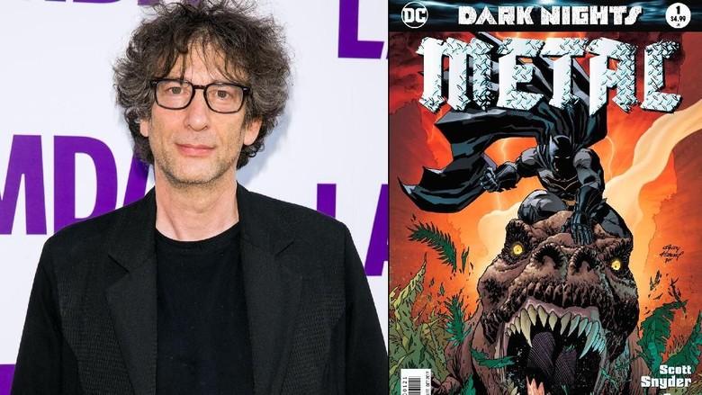 DC Comics akan Luncurkan Universe Sandman Bareng Neil Gaiman