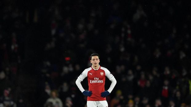 Mesut Oezil menjadi slah satu pilar di Arsenal.
