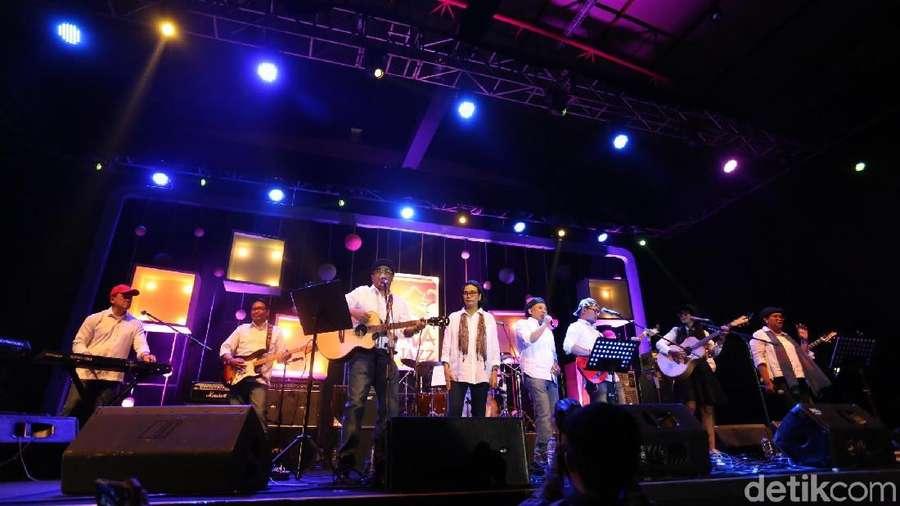 Aksi Elek Yo Band Bikin Kagum Penonton BNI Java Jazz 2018