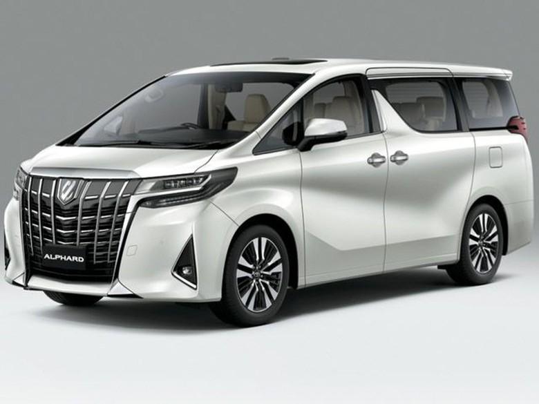 Ilustrasi Toyota Alphard Foto: Istimewa/Toyota-Astra Motor