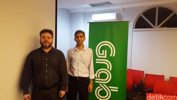 Steve Yogge (kiri) dan Milind Mahajan. Foto: Muhamad Imron Rosyadi/detikINET