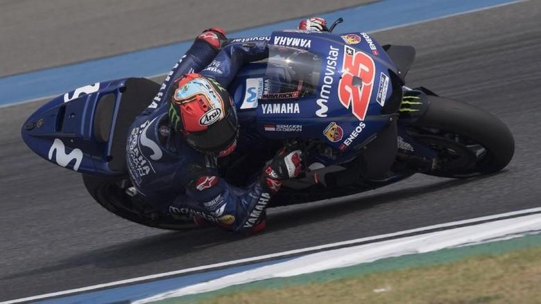 Vinales Memimpin di Hari Pertama Tes MotoGP Qatar
