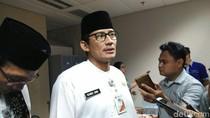 Ancaman Sandi ke Pemotor yang Nekat Melaju di Trotoar Sudirman-Thamrin