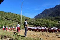 Kehidupan di salah satu distrik di Pegunungan Bintang (Indonesia Mengajar)