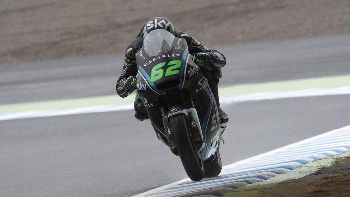 Pebalap Moto2 Stefano Manzi yang memperkuat tim VR46. (Foto: Mirco Lazzari gp/Getty Images)