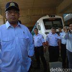 Kereta Bandara Dicoret-coret, Menhub: Polisi akan Tindak Pelaku