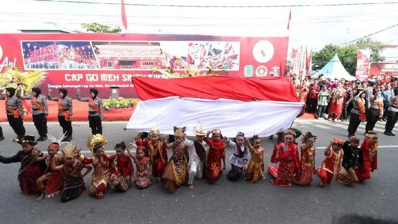 Polisi: Perayaan Cap Go Meh di Kalbar Berjalan Lancar
