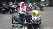 Tentang Mbak Sri, Pemotor Difabel yang Keliling Indonesia
