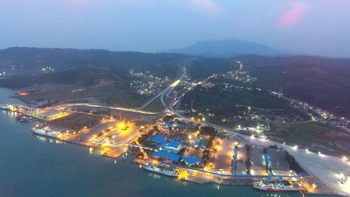 Mengutip instagram PTPP @ptpp_id, dalam proyek Tol Trans Sumatera, PTPP mengerjakan paket 1 Ruas Bakauheni-Sidomulyo sepanjang 39,4 kilometer (km). Foto: Dok. PT PP