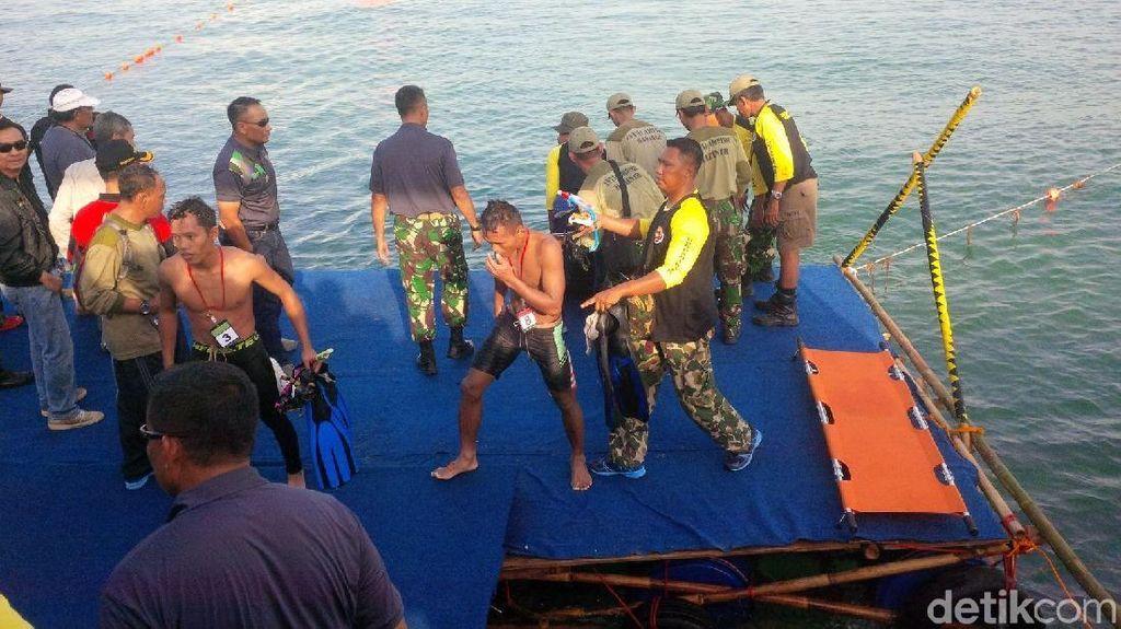 Perenang Penakluk Selat Sunda Tiba di Merak Setelah 10 Jam Berenang