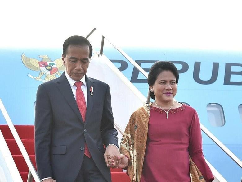 Jokowi: Perempuan Tangguh dalam Hidupku adalah Iriana
