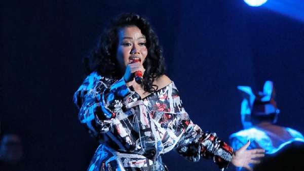 Asyiknya Yura Yunita dan Ron King Horn Section di BNI Java Jazz Festival 2018